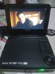 Título do anúncio: DVD portátil bateria ok
