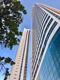 JS- Lindo apartamento decorado no Jardins da Aurora, 173m² - Andar alto 3 vagas