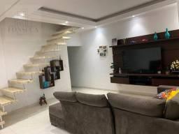Título do anúncio: Sobrado com 3 dormitórios à venda, 210 m² por R$ 425.000,00 - Vila Quintino - Carapicuíba/