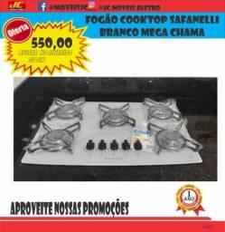 Título do anúncio: Fogão Cooktop Safanelli Branco Mega Chama Promoção Imperdível