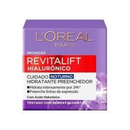 Creme Anti-idade L'Oréal Paris - Revitalift Hialurônico Noturno (novo com NF)