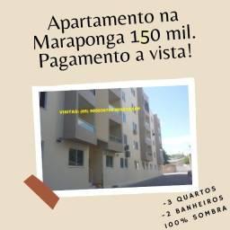 RT-Apartamento a Venda na Maraponga, 3 quartos, 100% sombra...