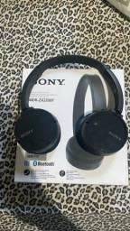 Fone de Ouvido Wireless Sony MDR-ZX220BT/BC com Bluetooth - Original