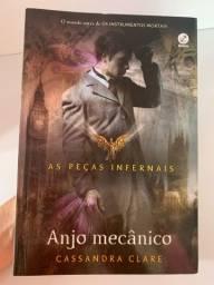 Livro Anjo Mecânico - As peças infernais