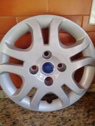 Par de Calota original Ford Fiesta aro 14 recém reformada!!
