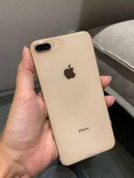 iPhone 8 Plus MUITO NOVO (única dona) 64gb