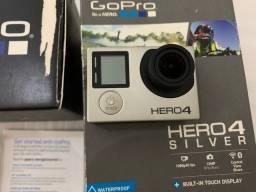 Go Pro Hero 4 Silver excelente!!