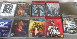 Jogos de PS3 separadamente