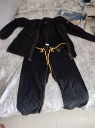 2 kimonos A2 jiu jitsu 1 - Koral (zero) 1 - Sankaku (usado)