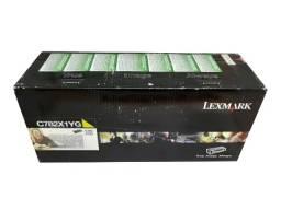 Título do anúncio: Toner Lexmark C782X1YG Yellow Original Novo