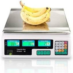 Balança Digital Comercial 40kg Scale Bivolt Alta Precisão
