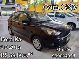 Título do anúncio: Ford Ka 1.0 2015 GNV