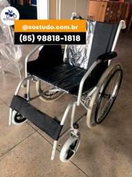 Título do anúncio: Cadeira de Rodas Dobrável e Resistente nova com garantia