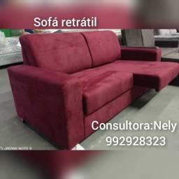 Título do anúncio: sofá retratil (((entrega grátis)))