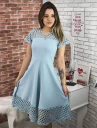 Vestido godê moda feminina