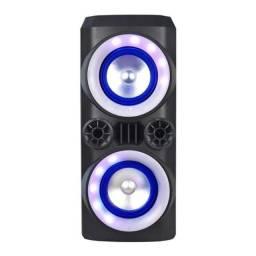 Título do anúncio:  Caixa de som Multilaser Mini Torre Multilaser Neon X 300W - SP379