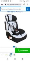 Cadeirinha para carro bebê faceiro