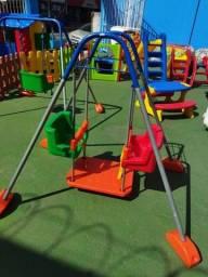 Garanta diversão em dobro em seu playground - Balanço Duplo - A pronta entrega
