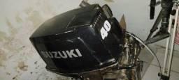Título do anúncio: Motor Suzuki 40HP 2 tempo