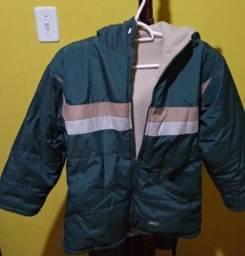 Jaqueta de lã infantil masculina