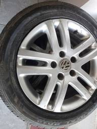 Rodas 16 do jetta pneus novos