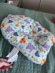 Almofada de banho no recém nascido