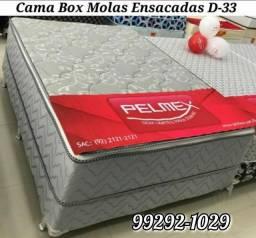 Cama box queen
