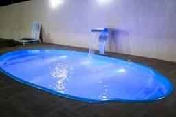 piscina de fibra 7m ((Oval))