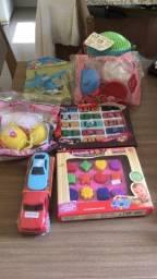 7 brinquedos novos - td por 40