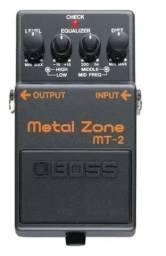 Título do anúncio: Metal zone -guitarra