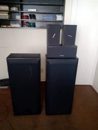 Conjunto de 5 caixas pioneer Home Theater-csr-7100