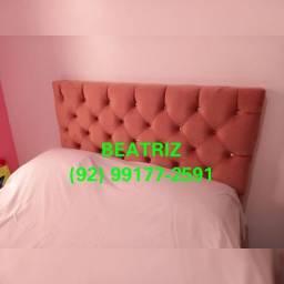 Título do anúncio: Cabeceira fixa cama solteiro