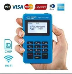 Título do anúncio: Máquina de cartão point mini chip