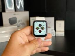 Smartwatch IWO W26 Preto e Prata