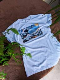 Camiseta Van Gogh Waves