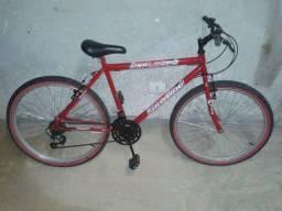 Bicicleta semi nova 18 marchas