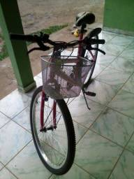 Bicicleta feminina seminova