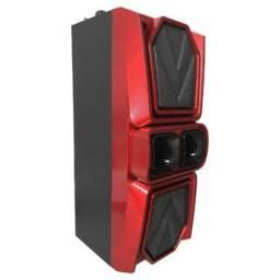 Caixa De Som Amplificada Bluetooth Usb P2 Grasep D-bh2812