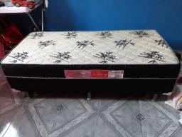 Vendo cama box de solteiro com cama auxiliar