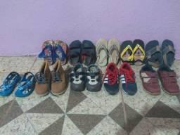 Lote de calçados 100 Reais negociável