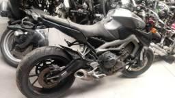 Moto Para Retirada De Peças / Sucata Yamaha Mt 09 Ano 2015