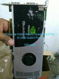 Vendo placa de video geforce quadro fx 3700 100 reais