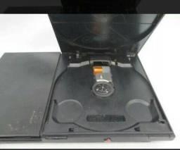PlayStation 2 com problema no leitor 100 reais pra hj