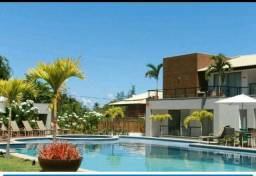 Apartamento Sollaris Imbassai 1 quarto 65m2 vista piscina Decorado e mobiliado Oportunida