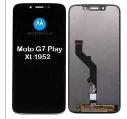 Display Completo para Moto G7 Play Modelo X1952- Display Completo- Valor já Instalado