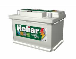 Bateria Para Carro Heliar de 60 AH com 2 Anos de Garantia R$360,00