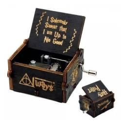 Caixinha de música Harry Potter