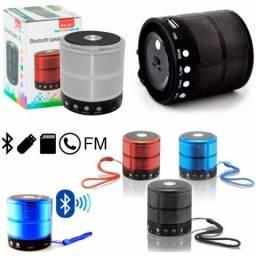 Caixa de som WS-887 Portátil Bluetooth Mp3 Fm Sd Usb 5w