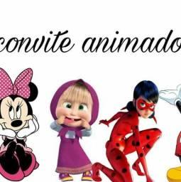 Convites digitais, convite animado, artes para convite e retrospectiva animada