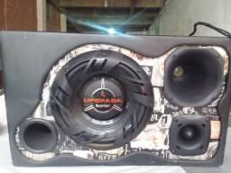 Caixa de som upgrade bomber